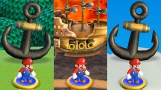 Another Super Mario Bros Wii - All Airships