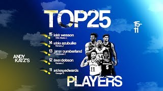 Top college basketball players: Ranking Nos. 15-11 for 2019-20 season
