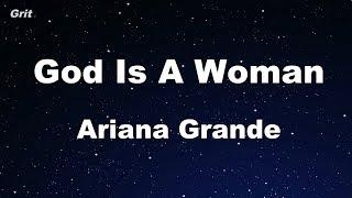 God is a woman - Ariana Grande Karaoke 【No Guide Melody】 Instrumental