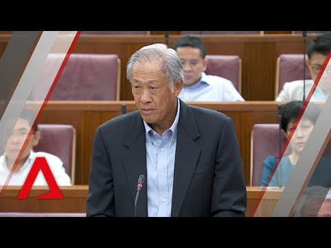 Death of NSF Liu Kai: Ng Eng Hen details events leading to collision