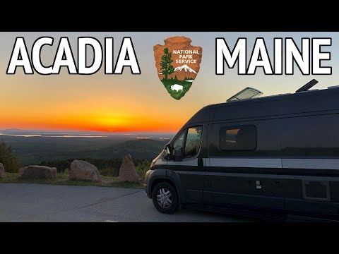 An Epic Trip to Acadia National Park | Camper Van Life S1:E54