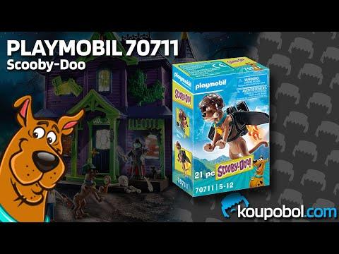 Vidéo PLAYMOBIL Scooby-Doo! 70711 : Scooby-Doo Pilote