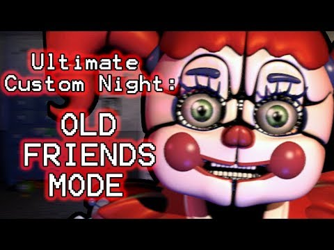 PHANTOM FOXY PLAYS: Ultimate Custom Night (Part 18) || OLD FRIENDS MODE COMPLETED!!!