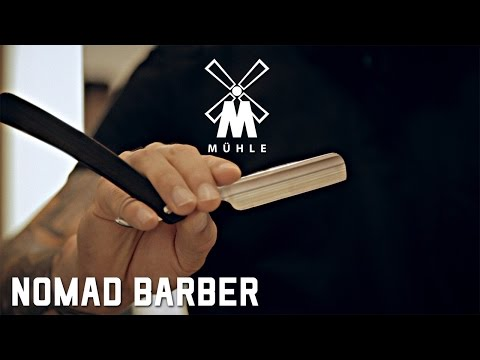 How to Shave with a Straight Razor by The Nomad Barber – Featuring Mühle