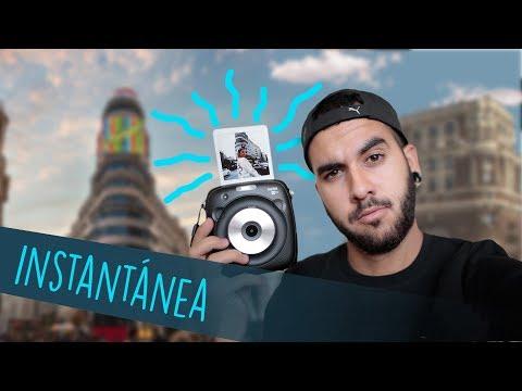 Sesión de fotos con CÁMARA INSTANTÁNEA
