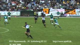 preview picture of video 'FSV Hoyerswerda - FC Schönberg 95 2:2'