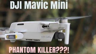 Is DJI Mavic Mini a PHANTOM KILLER??? DJI Mavic mini is an amazing drone, see why