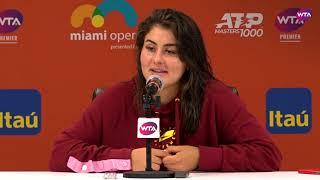 Bianca Andreescu   Miami Open 2019 Fourth Round   Press Conference
