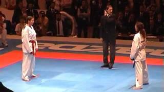 Laurence Fischer en Final Kumite – France Vs Spain