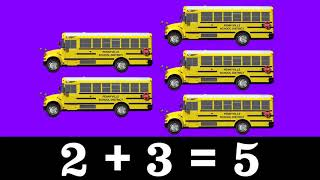 Street Vehicle Math for Kids - Lesson 1: Addition - Adding 1, 2 & 3 - Organic Learning