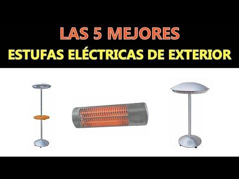 Mejores Estufas Eléctricas De Exterior 2018