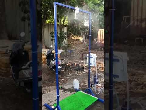 automatic full body sanitizing stand