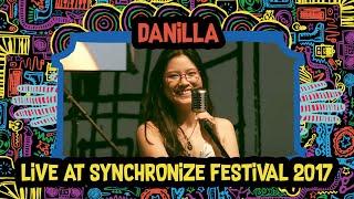 Danilla Live At SynchronizeFest   8 Oktober 2017