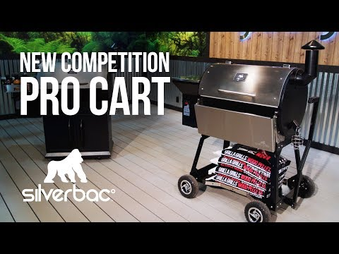 Competition Pro Cart For Silverbac Pellet Grill