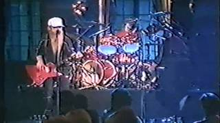 ZZ TOP Sweden TV 1983 1 Tube Snake Boogie Jailhouse Rock