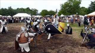 preview picture of video 'Mittelaltermarkt Hockenheim 2013 - Die Schlacht vor der Burg'