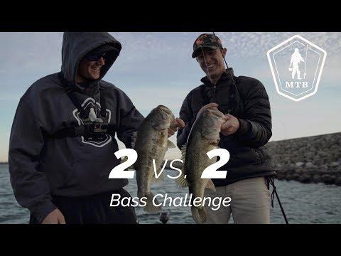 2 VS. 2 BASS CHALLENGE!