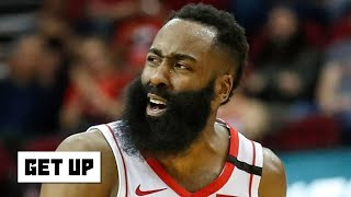 James Harden missed 16 3-pointers against the OKC Thunder | Get Up