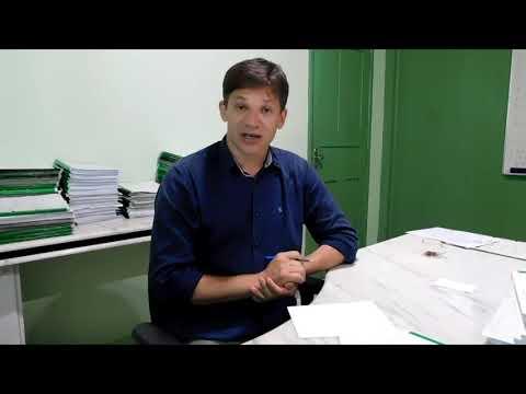 Prefeito pede pra população procurar a Secretaria de Obras