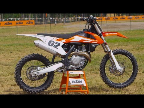 First Ride 2016 KTM 450SXF - Motocross Action Magazine