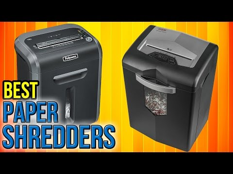 10 Best Paper Shredders 2017