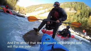"""""""Kayak Rescue Austria""""   Training And REAL Carnage!"""
