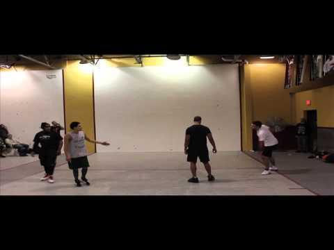 2014 Wall Ball Open - Pooch & Carlin vs Tavo & Kid Justin