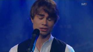 Alexander Rybak - Funny little world -  Swedish TV,  11.09.09