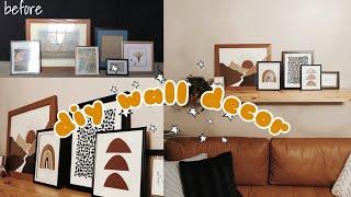 THRIFT FLIP    DIY WALL ART FROM PINTREST MID CENTURY STYLE DECOR
