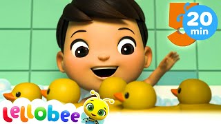 5 Little Ducks | +More Nursery Rhymes | Songs For Kids | Little Baby Bum