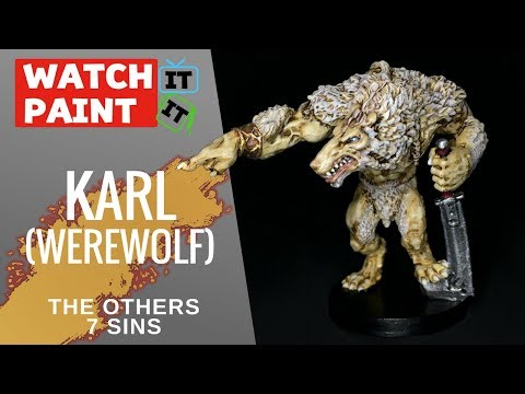The Others : 7 Sins - Painting Karl (Werewolf)