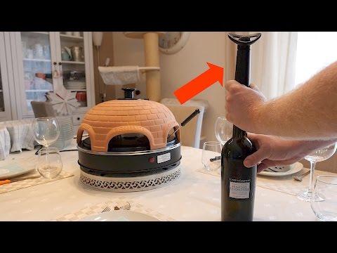 Vacu Vin Weinpumpe Concerto // Wein länger frisch halten // Luftdicht verschließen // DEUTSCH