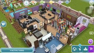 The Sims Freeplay - Weekly Tasks 'Have 5 Sims Reading Pulp Novels'