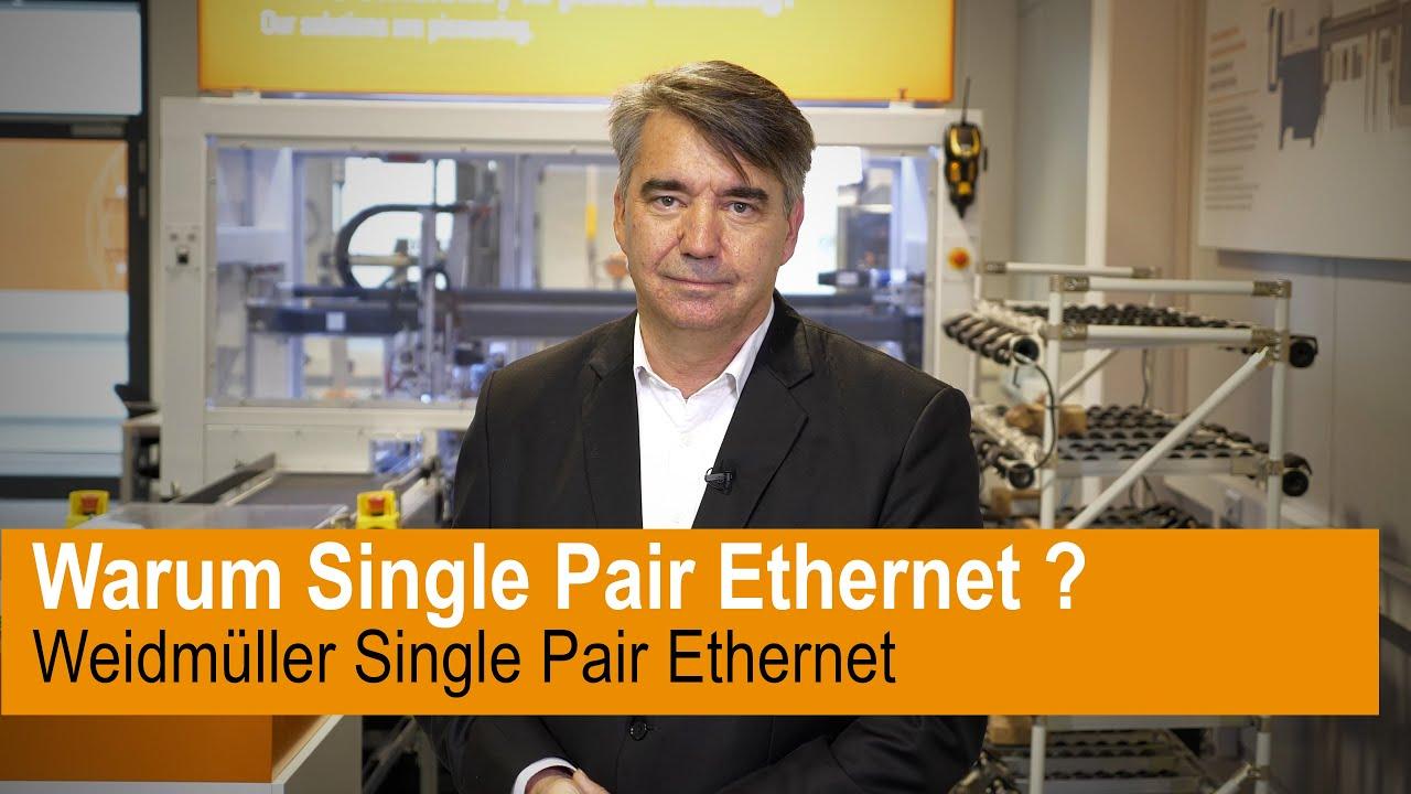 Warum Single Pair Ethernet?