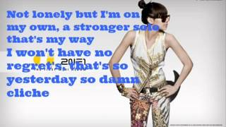 2NE1 Go Away English Version with Lyrics