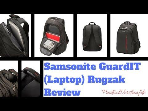 Samsonite GuardIT (Laptop) Backpack Review (Nederlands)