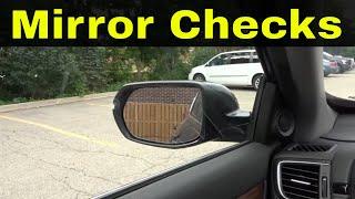 Proper Mirror Checks-Driving Lesson For Beginners