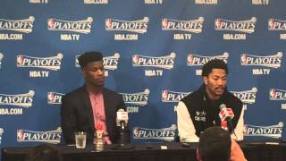2fd2feb82092 New Bulls player sparks controversy by wearing Derrick Rose s old ...