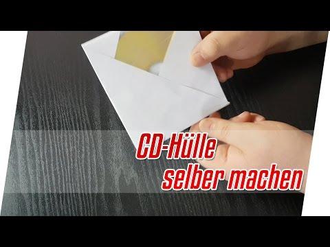 Do it yourself: CD Hülle aus Papier falten | CD Hülle aus Papier falten Tutorial | Blackmurat!