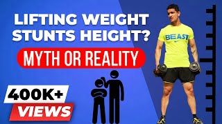 Will Your Height Stop Increasing If You Weight Life? | BeerBiceps Fitness