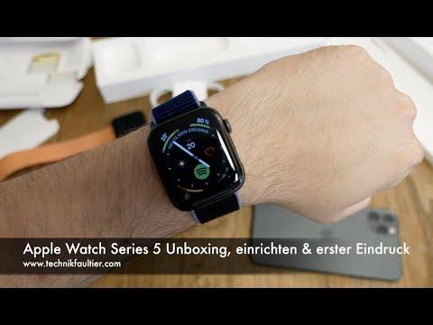 Apple Watch Series 5 Unboxing, einrichten & erster Eindruck