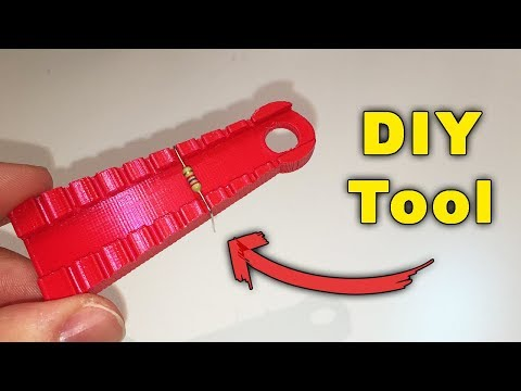 DIY Bending Tool for Electronic Components (3D Printed) – By STE