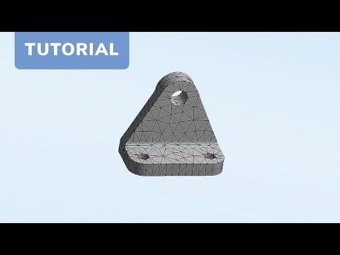 cadfem tutorial nr 4 berechnung einer baugruppe mit. Black Bedroom Furniture Sets. Home Design Ideas
