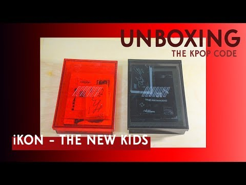 Unboxing | iKON - NEW KIDS REPACKAGE: THE NEW KIDS (Red +
