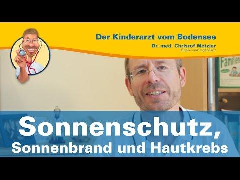 Sonnenschutz, Sonnenbrand und Hautkrebs - Der Kinderarzt vom Bodensee