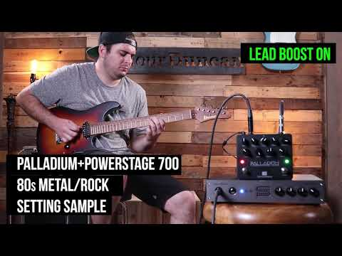 Palladium + PowerStage 700 80's Metal/Rock Setting Sample
