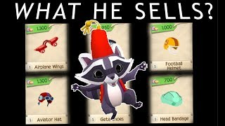 THE SALESMAN ~ What He Sells & WHEN - Animal Jam Play Wild - AJPW