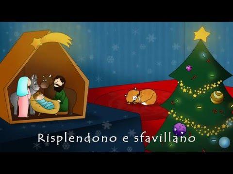 Canzoni di Natale -Oh Albero - Video con testo che scorre - VERSIONE DOLCISSIMA CANTATA DA BAMBINI