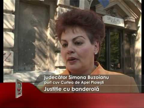 Justitie cu banderola