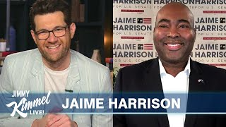 Guest Host Billy Eichner Interviews Jaime Harrison – Running Against Lindsey Graham